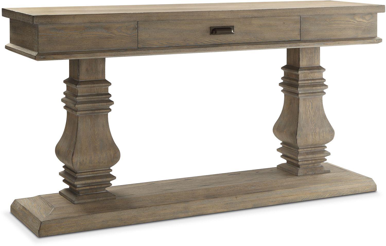 Lancaster Double Pedestal Sideboard   Parchment ...