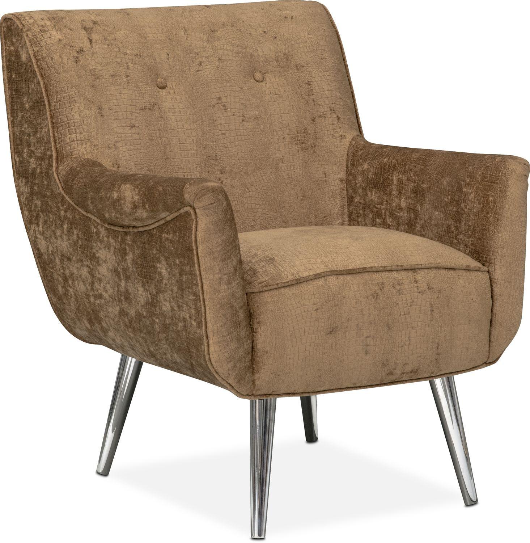 Moda Accent Chair - Caramel