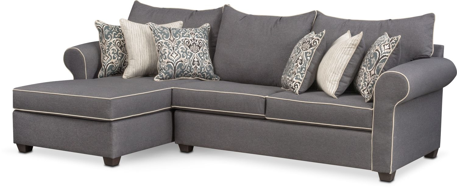 The Carla Sectional Collection - Gray