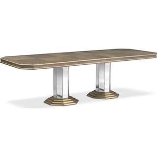 Angelina Double-Pedestal Table