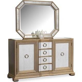 Angelina Sideboard with Mirror
