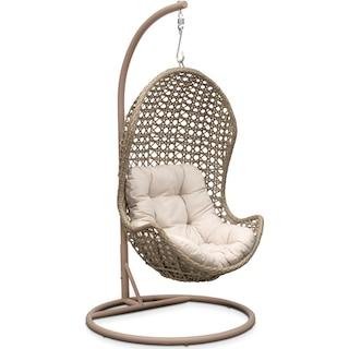 Kona Outdoor Egg Chair - Cream