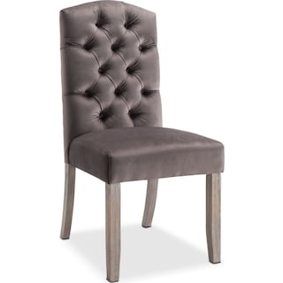 Drexel Side Chair - Gray