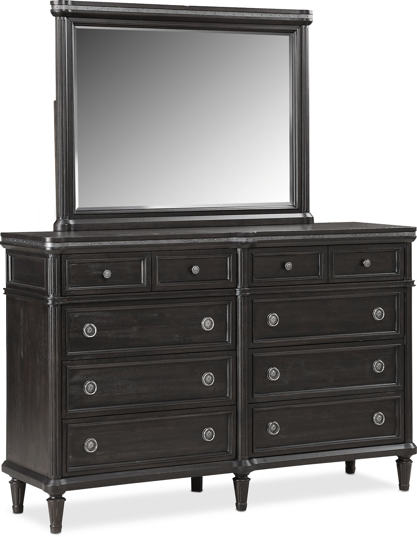 Bedroom Furniture - Berwick Dresser and Mirror