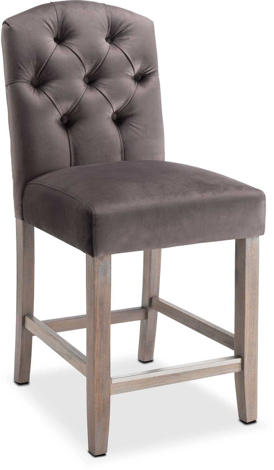 Etonnant Dining Room Furniture   Drexel Counter Height Stool   Gray