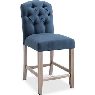 Drexel Counter-Height Stool - Navy