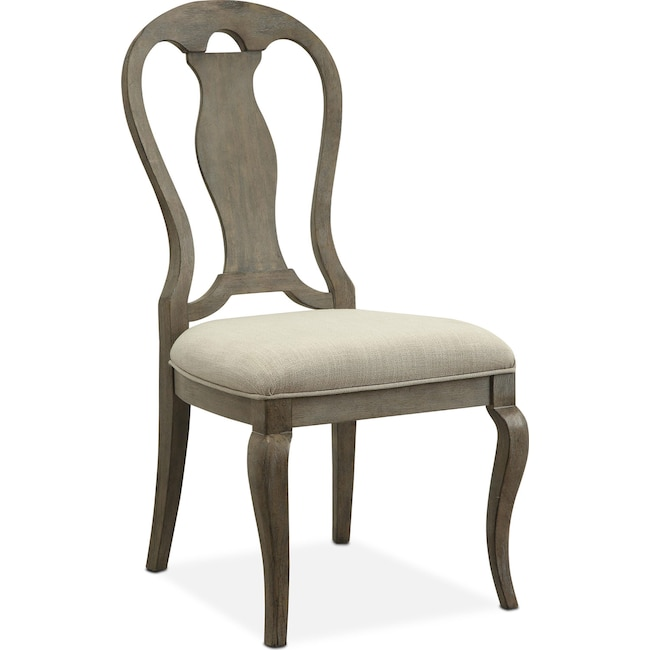 Dining Room Furniture - Lancaster Queen Anne Chair - Parchment
