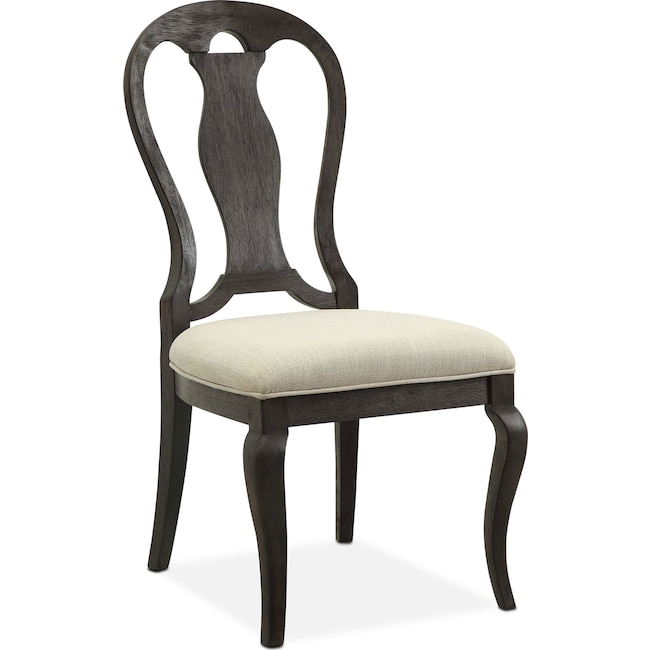 Dining Room Furniture - Lancaster Queen Anne Chair - Truffle