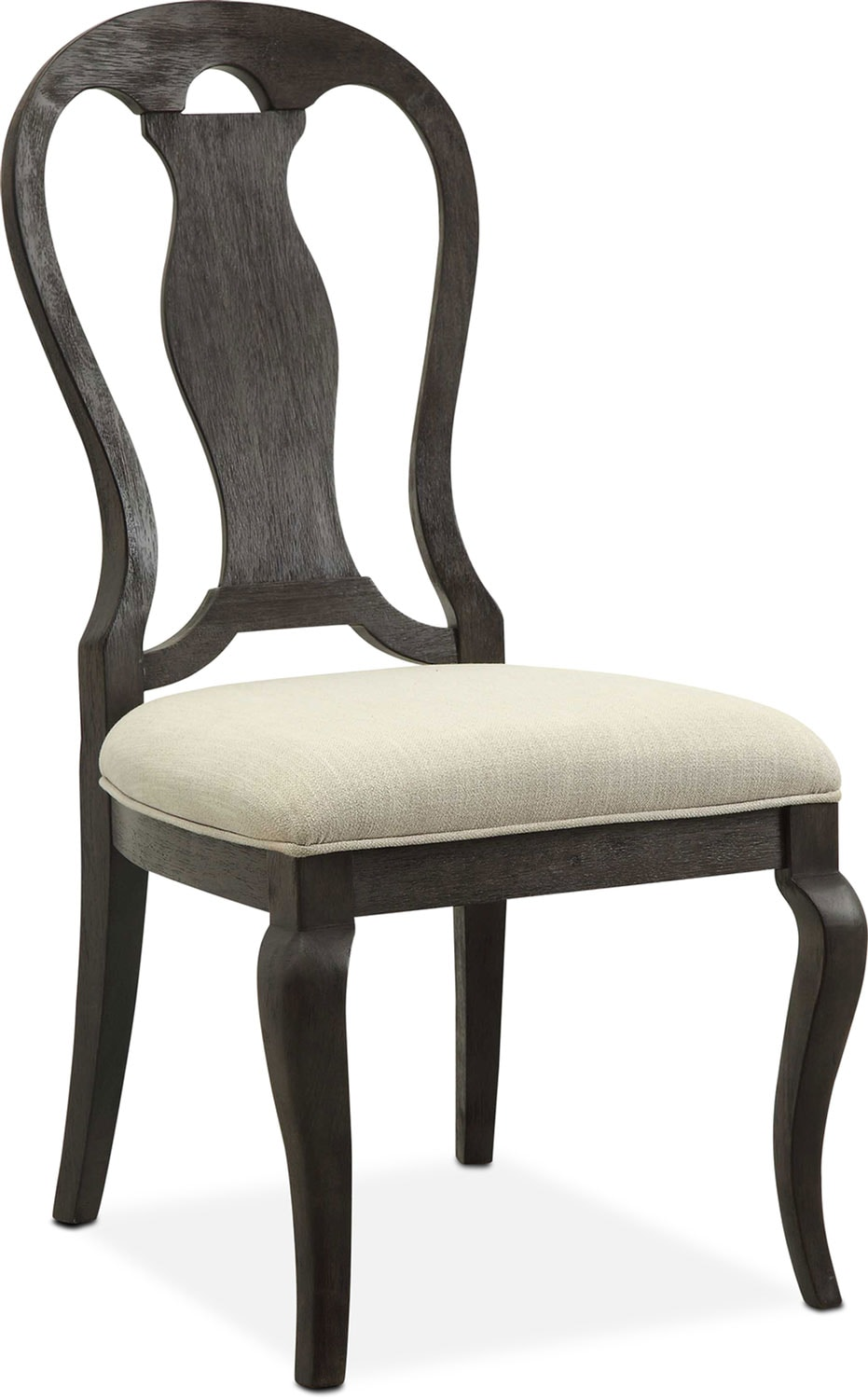 Dining Room Furniture   Lancaster Queen Anne Chair   Truffle