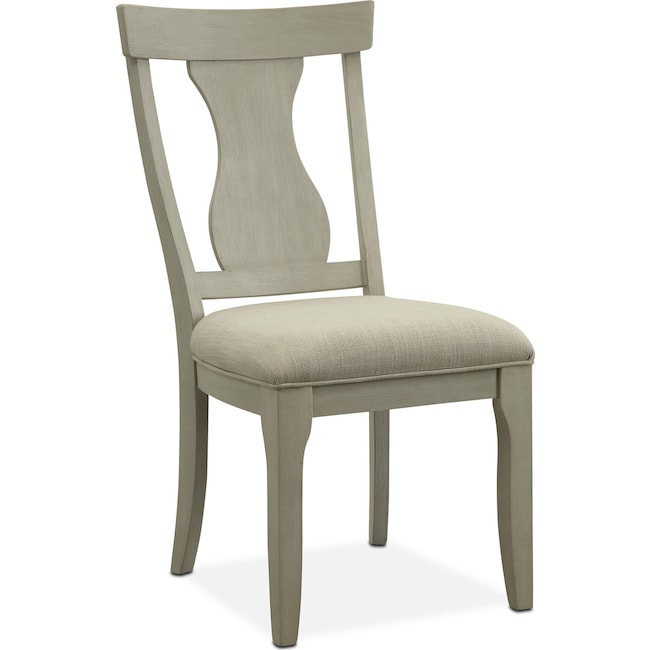 Dining Room Furniture - Lancaster Splat-Back Chair - Water White