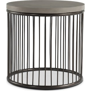 Arbor End Table - Concrete