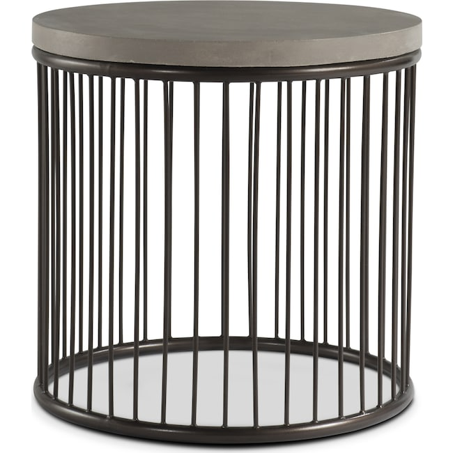 Accent and Occasional Furniture - Arbor End Table - Concrete