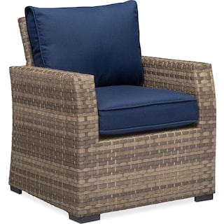 Antigua Outdoor Arm Chair - Blue