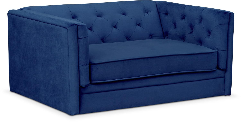 Gabe Cuddler Chair - Indigo