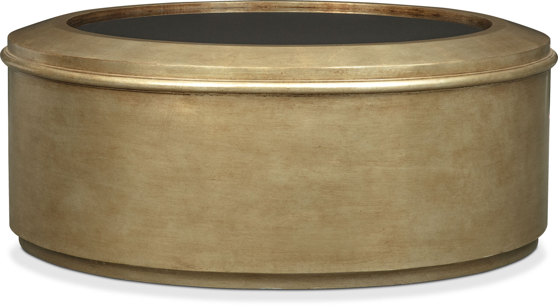 Rotunda Cocktail Table - Gold