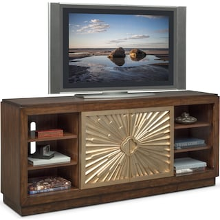"Conley 72"" TV Stand - Cherry"