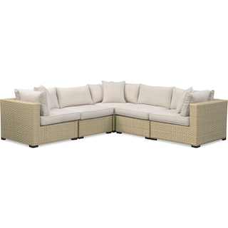 Regatta 5-Piece Outdoor Sectional - Cream
