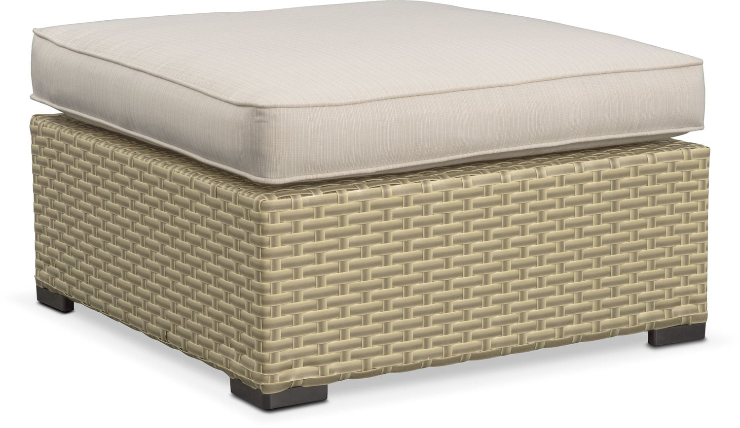 Regatta Outdoor Ottoman - Cream
