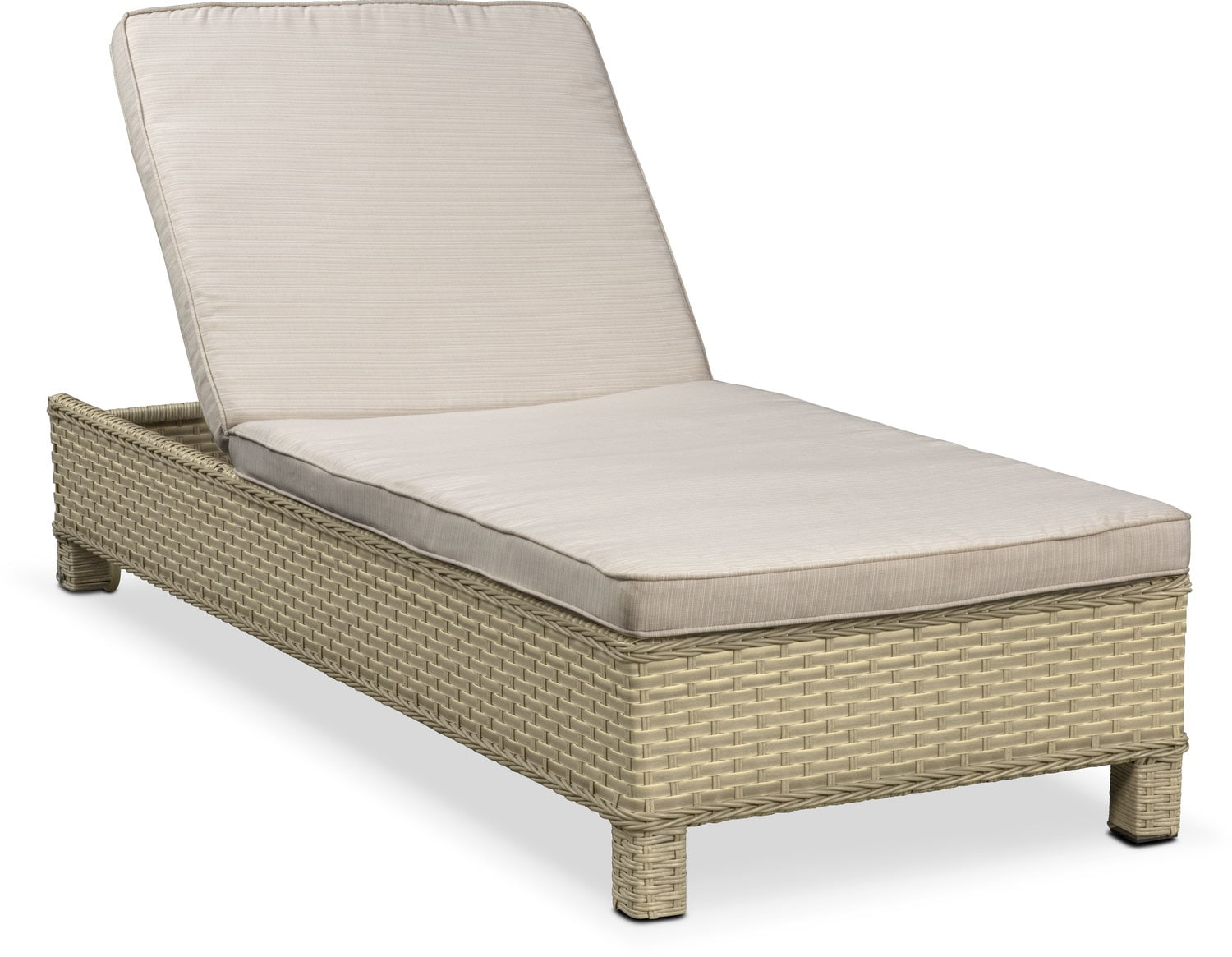 Regatta Outdoor Chaise Lounge - Cream