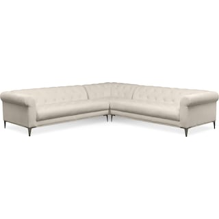 David 3-Piece Sectional - Ivory