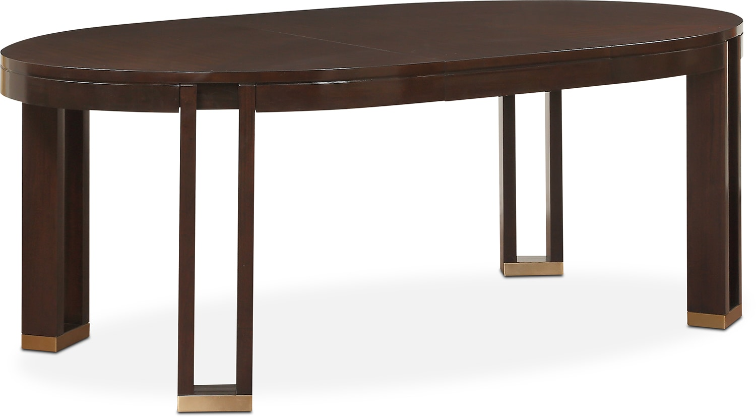savoy oval table and  side chairs  merlot  value city furniture - click to change image