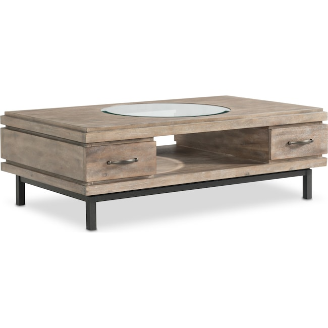 Accent and Occasional Furniture - Printworks Cocktail Table - Natural