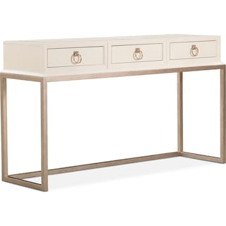 Cardozo Sofa Table - Parchment