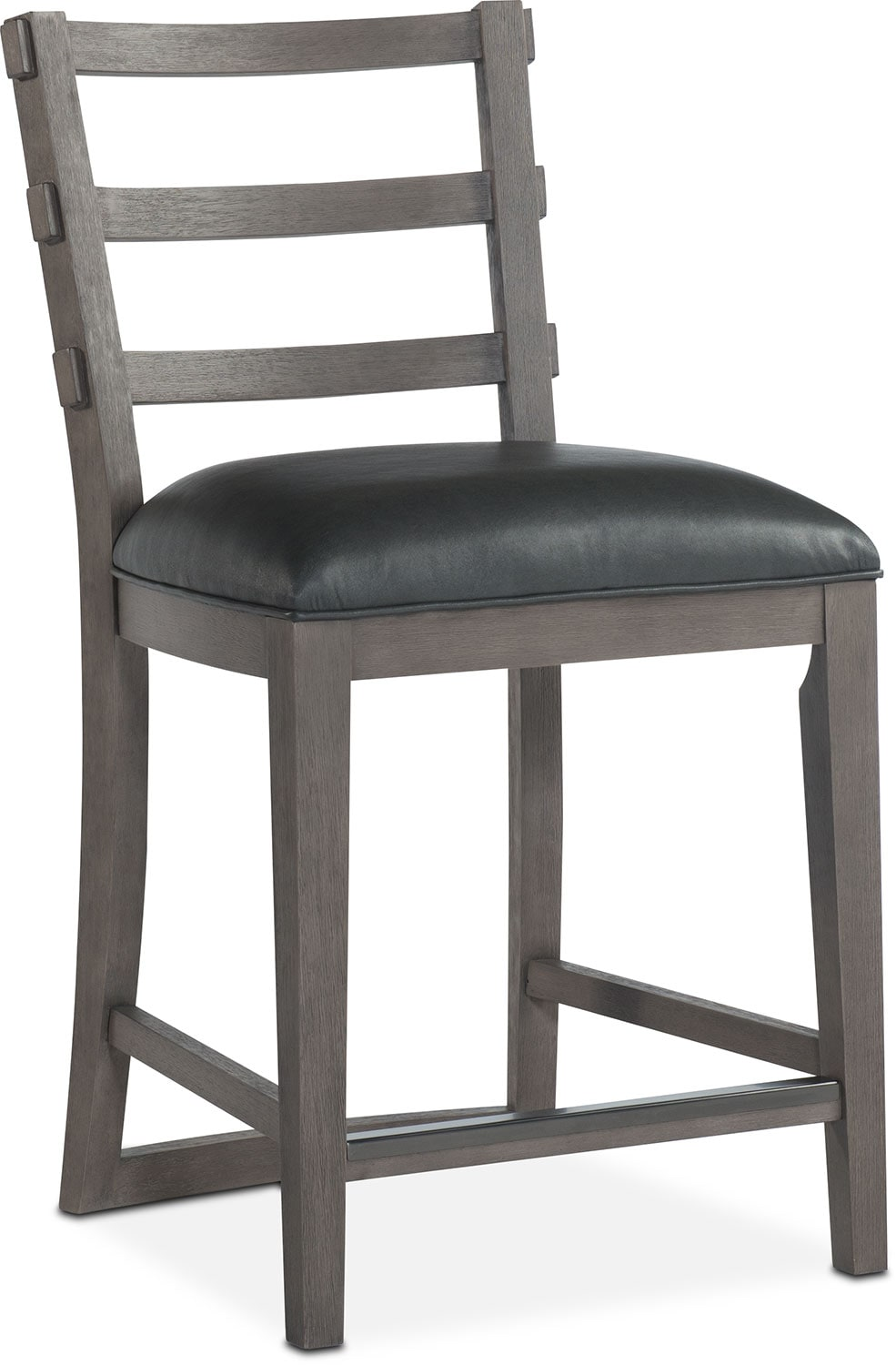 Malibu Counter Height Stool Gray Value City Furniture