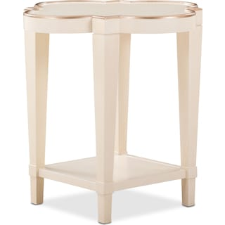 Cardozo End Table - Parchment