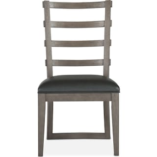 Malibu Side Chair - Gray