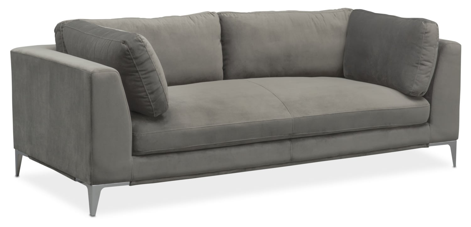 Aaron Sofa Value City Furniture And Mattresses
