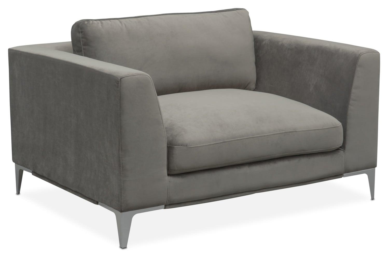Aaron Cuddler Chair - Flannel