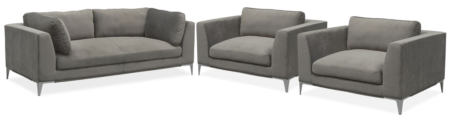 Cuddler Sofa Wilcot 4 Piece Sofa Sectional With Cuddler