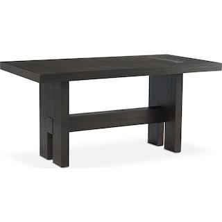 Malibu Rectangular Counter-Height Wood Top Table - Umber