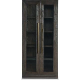 Malibu Display Cabinet - Umber
