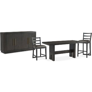 The Malibu Counter-Height Dining Collection