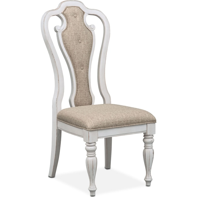 Dining Room Furniture - Marcelle Side Chair - Vintage White