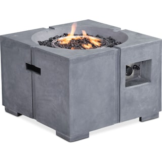 Abner Fire Pit - Gray