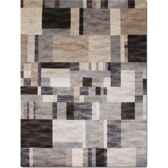 Rugs - Sonoma Clark 5' x 8' Area Rug - Gray and Blue