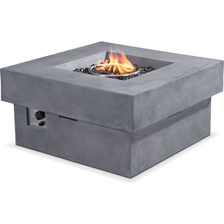 Amos Fire Pit - Gray