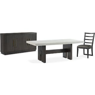 The Malibu Rectangular Dining Collection - Umber