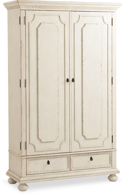 Bedroom Furniture   Langham Armoire   White