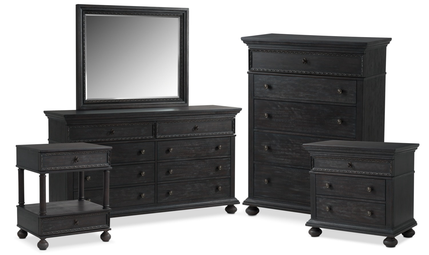 The Langham Collection - Black