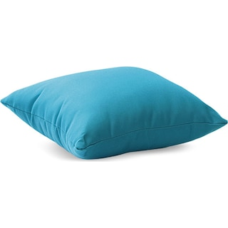 Myla Outdoor Pillow - Sky Blue