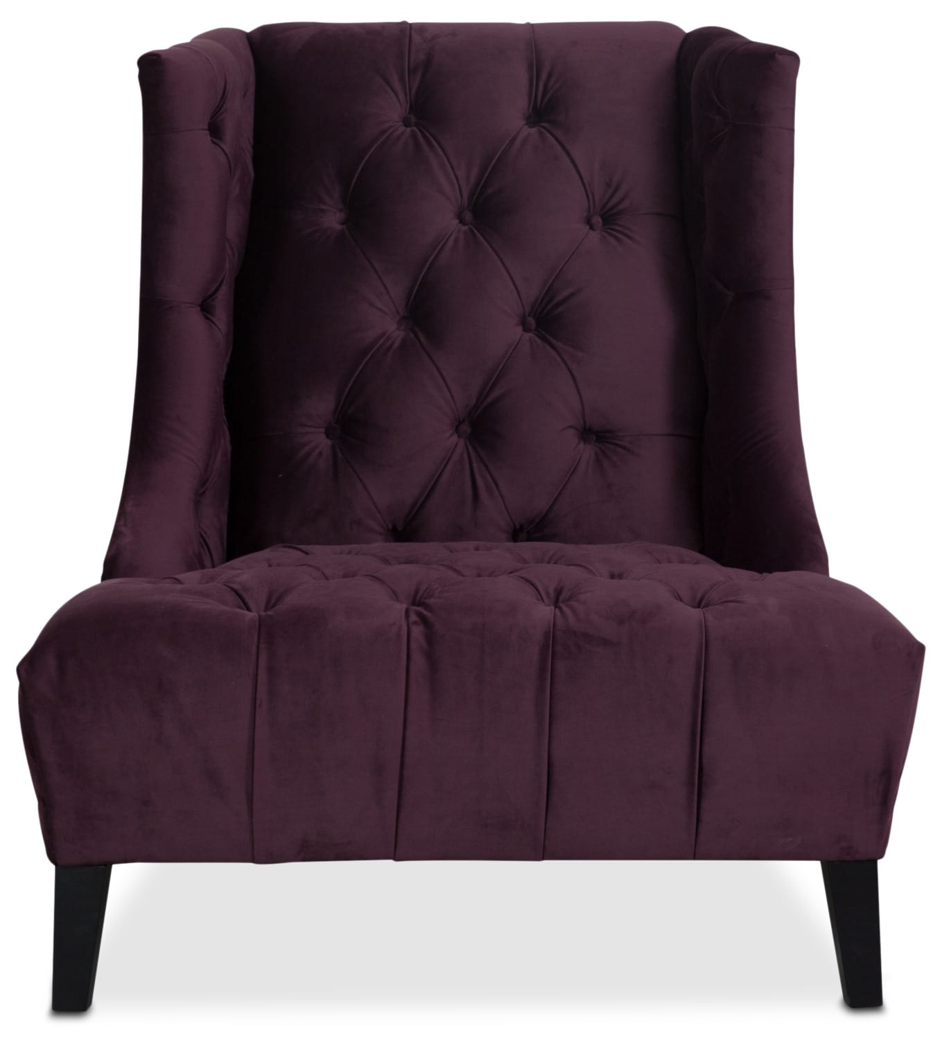 Meghan Accent Chair Purple