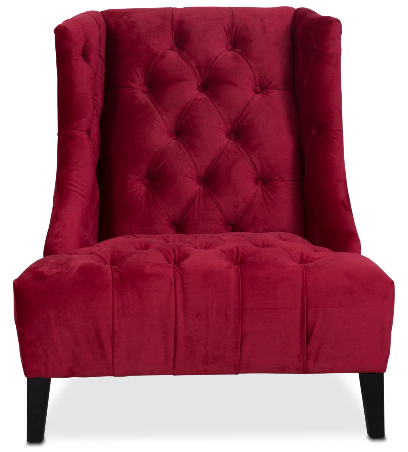 Red velvet chair - Click To Change Image
