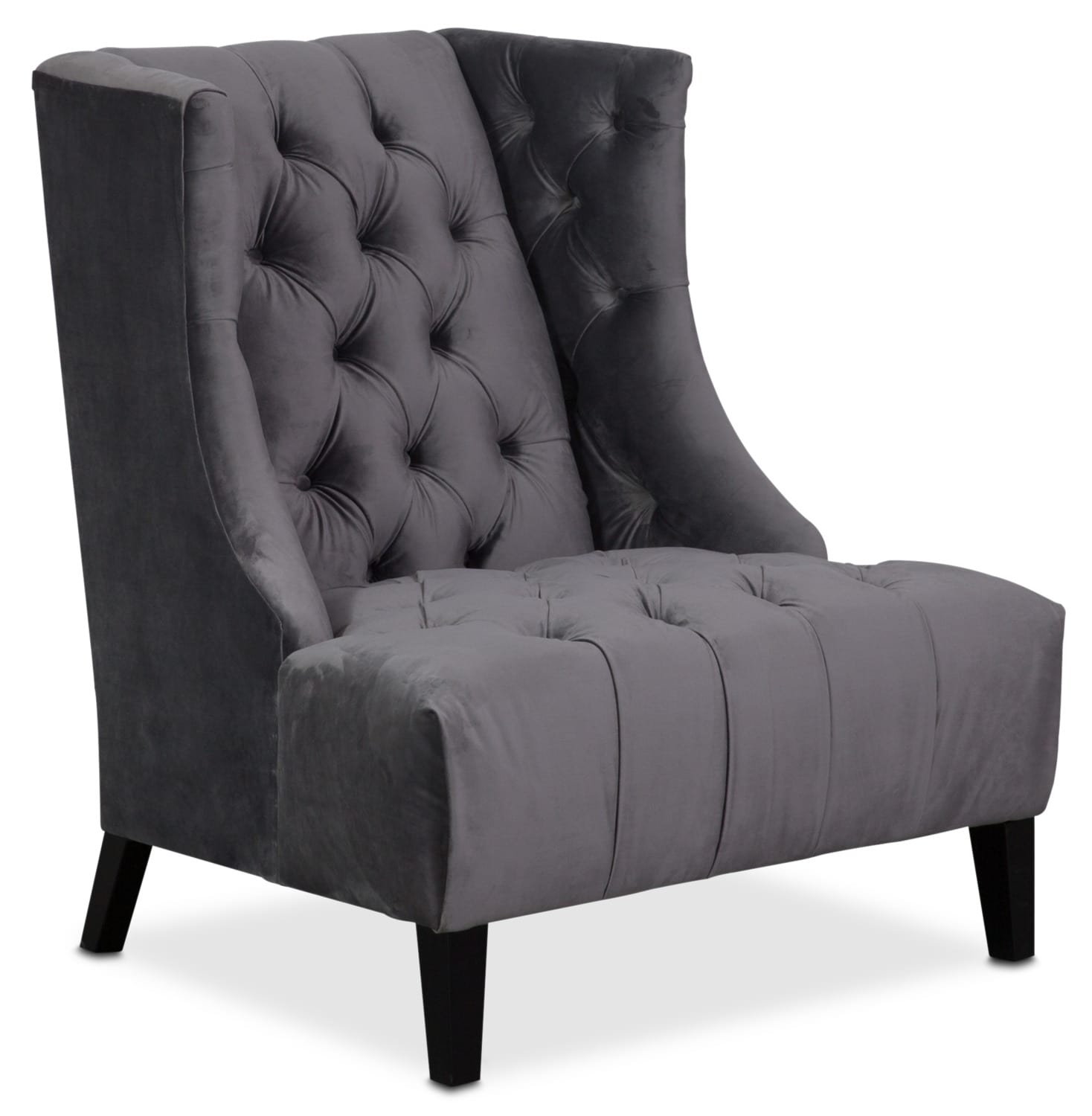 Meghan Accent Chair Gray