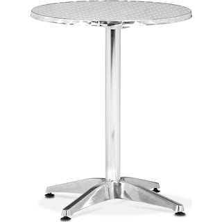 Cleo Outdoor Folding Table - Gray
