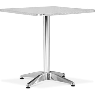 Cleo Outdoor Square Table - Gray