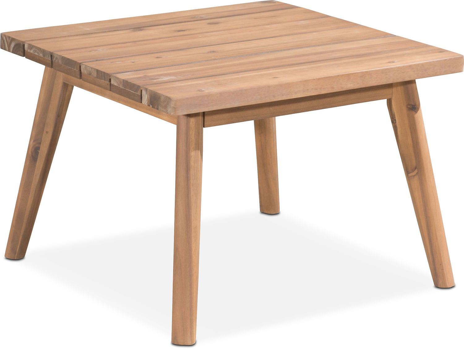 Outdoor Furniture - Peyton Outdoor End Table - Natural